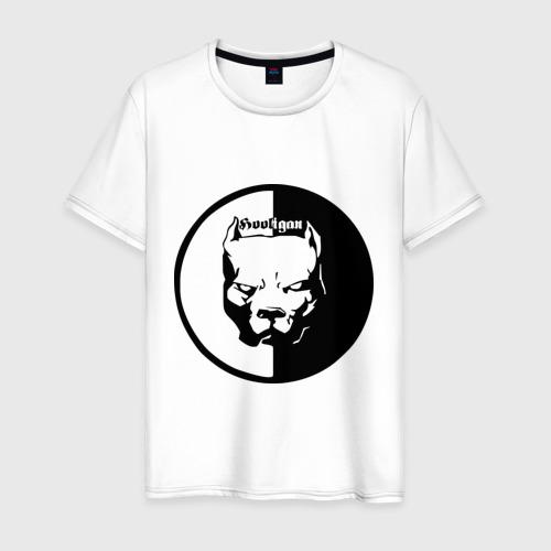 Мужская футболка хлопок Хулиган