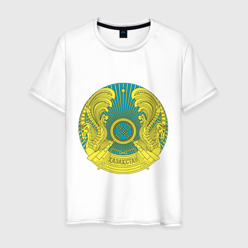 Мужская футболка хлопок Казахстан герб