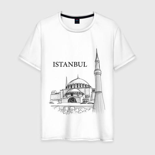 Мужская футболка хлопок ISTAMBUL (эскиз)