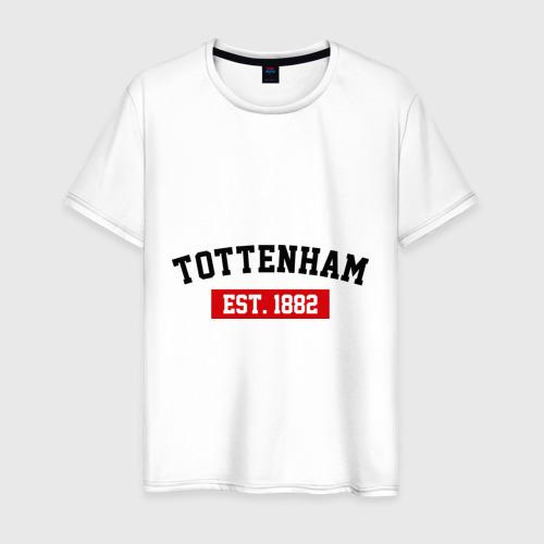 Мужская футболка хлопок FC Tottenham Est. 1882