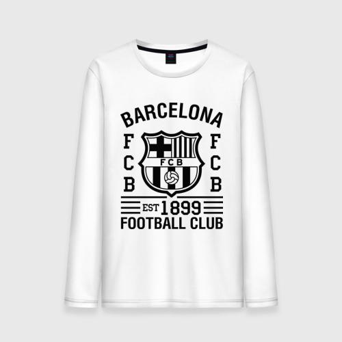 Мужской лонгслив хлопок FC Barcelona