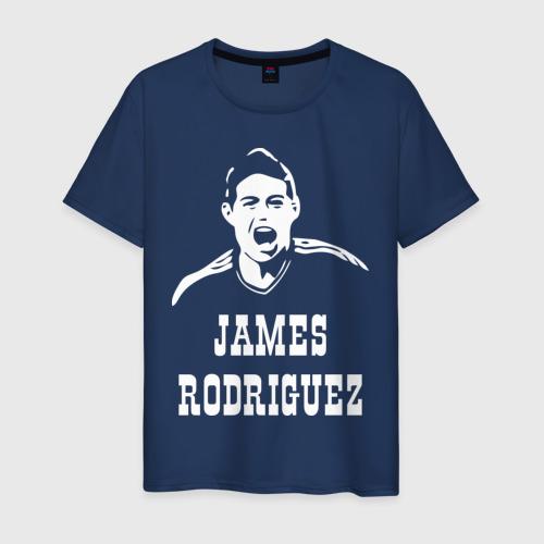 Мужская футболка хлопок James Rodriguez