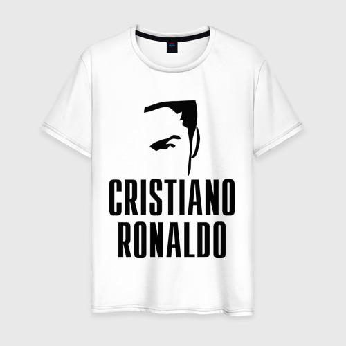 Мужская футболка хлопок Cristiano Ronaldo 7