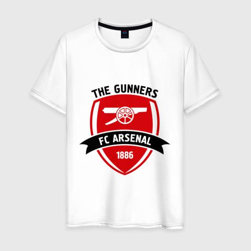 Мужская футболка хлопок FC Arsenal - The Gunners