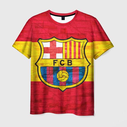 Мужская футболка 3D Barcelona
