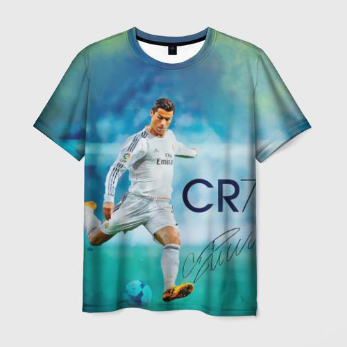 Мужская футболка 3D Ronaldo
