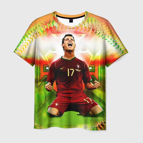 Мужская футболка 3D Роналдо