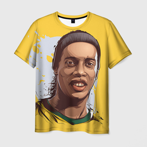 Мужская футболка 3D Ronaldinho