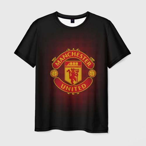 Мужская футболка 3D Манчестер Юнайтед