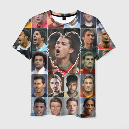 Мужская футболка 3D Криштиану Роналду - лучший