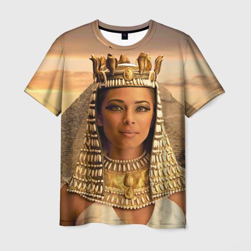 Мужская футболка 3D Клеопатра