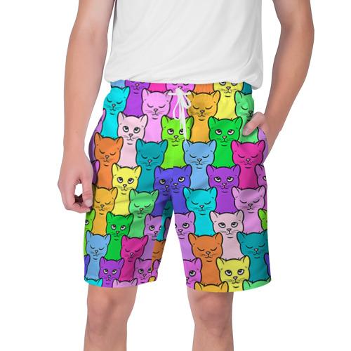 Мужские шорты 3D Котятушки