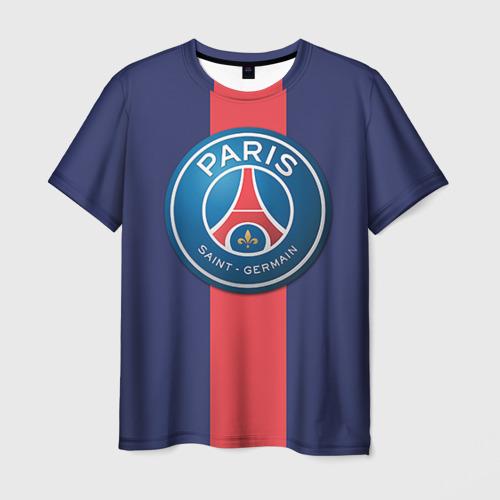 Мужская футболка 3D Пари Сен-Жермен