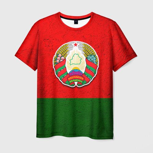 Мужская футболка 3D Белоруссия