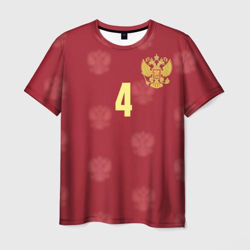 Мужская футболка 3D Сергей Игнашевич