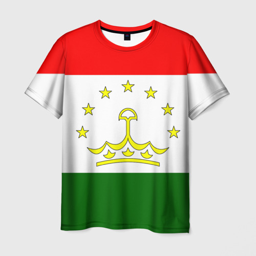 Мужская футболка 3D Таджикистан