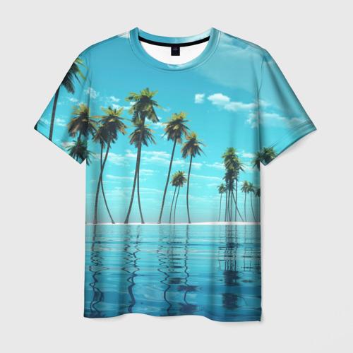 Мужская футболка 3D Фиджи