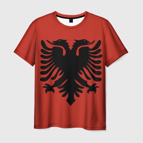 Мужская футболка 3D Сборная Албания