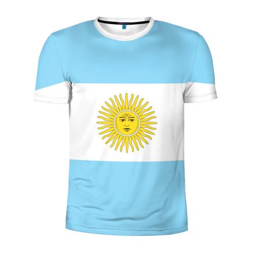 Мужская футболка 3D спортивная Аргентина