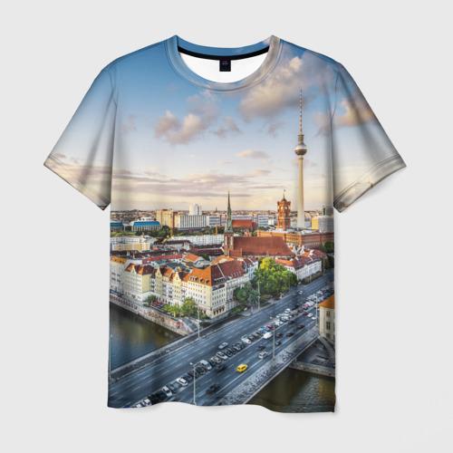 Мужская футболка 3D Germany
