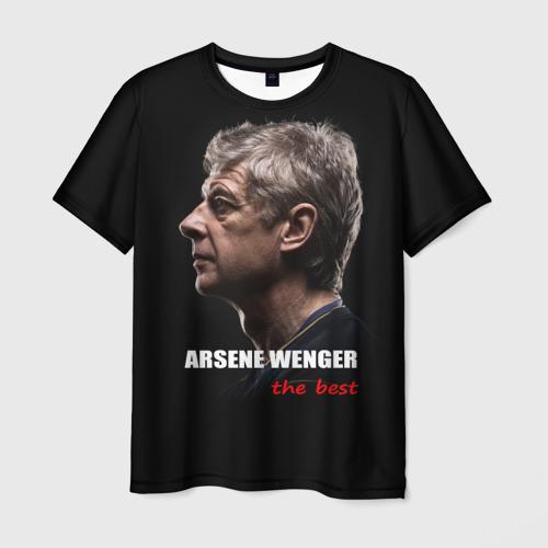 Мужская футболка 3D Arsene Wenger (Arsenal)