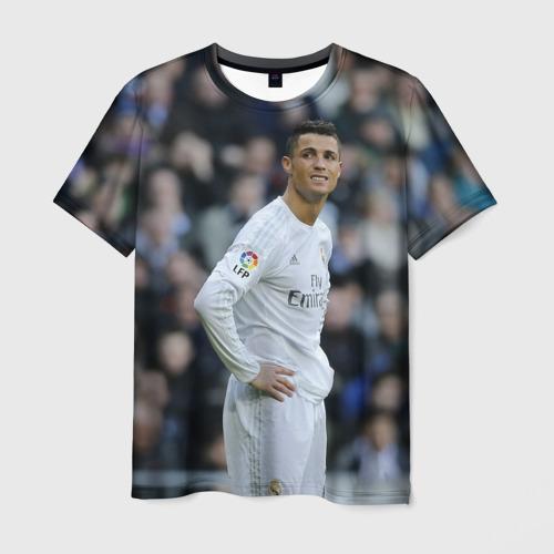 Мужская футболка 3D Cristiano Ronaldo