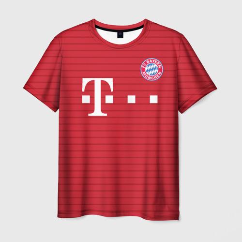 Мужская футболка 3D Бавария (форма)