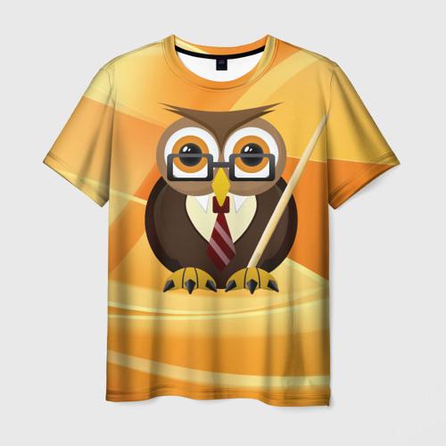Мужская футболка 3D Преподаватель