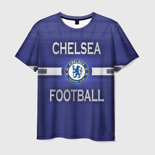 Мужская футболка 3D Chelsea football