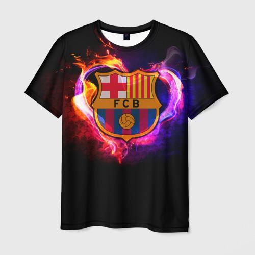 Мужская футболка 3D Barcelona7