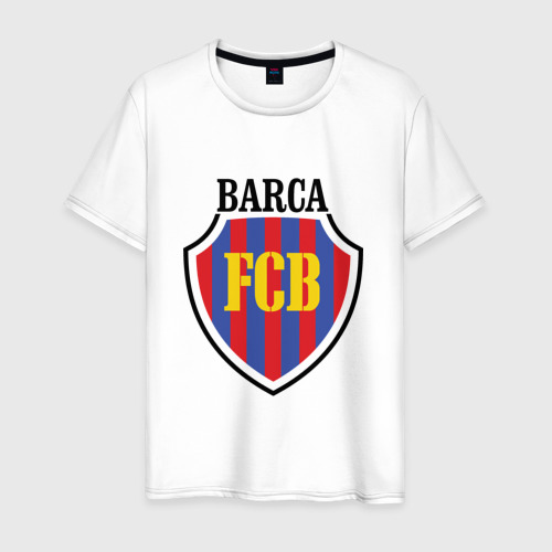 Мужская футболка хлопок Barcelona