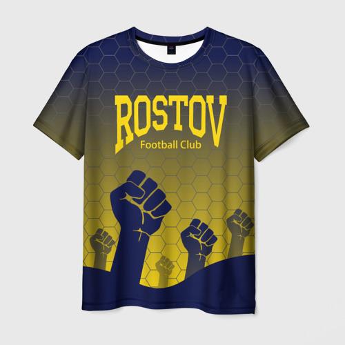 Мужская футболка 3D Rostov Football club