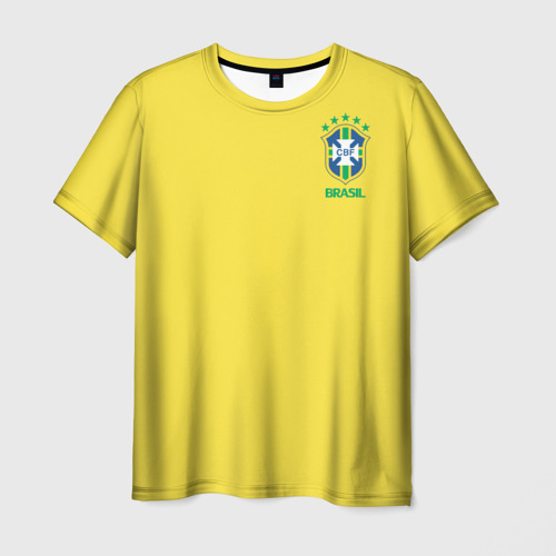 Мужская футболка 3D Сборная Бразилии