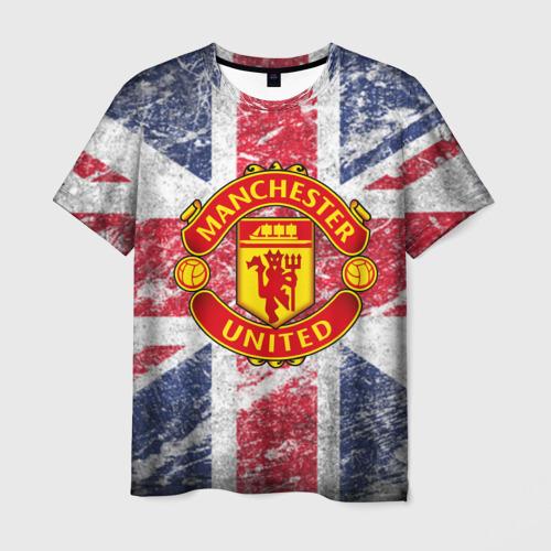 Мужская футболка 3D British Manchester United