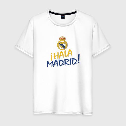Мужская футболка хлопок Real Madrid - i Hala Madrid !