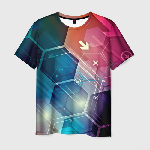 Мужская футболка 3D Hi-tech
